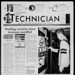 Technician, October 25, 2000