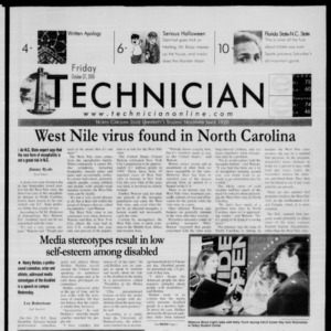 Technician, October 27, 2000