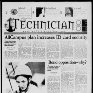 Technician, October 31, 2000