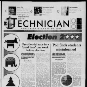 Technician, November 1, 2000
