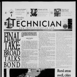 Technician, November 6, 2000