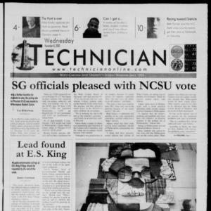 Technician, November 8, 2000