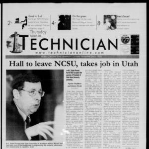 Technician, November 9, 2000