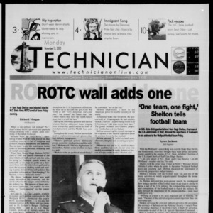 Technician, November 13, 2000