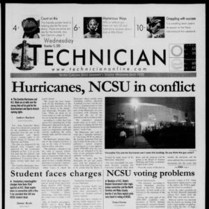 Technician, November 15, 2000