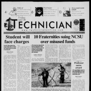 Technician, November 17, 2000