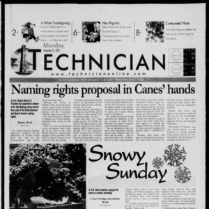 Technician, November 20, 2000