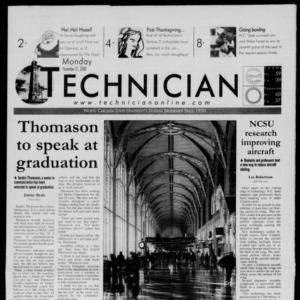 Technician, November 27, 2000