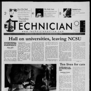 Technician, November 30, 2000