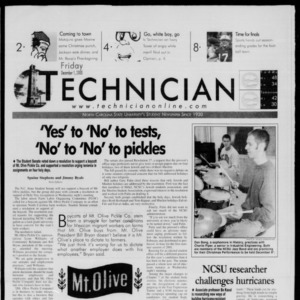 Technician, December 1, 2000