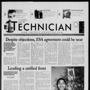 Technician, December 5, 2000