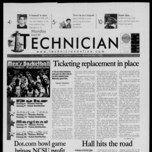 Technician, January 8, 2001