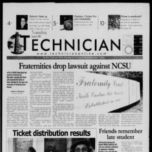 Technician, January 9, 2001
