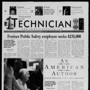 Technician, January 17, 2001