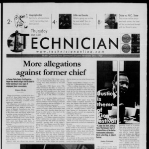 Technician, January 18, 2001