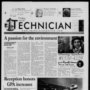 Technician, January 26, 2001