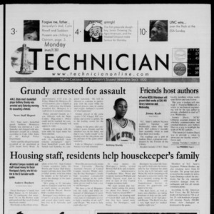 Technician, January 29, 2001