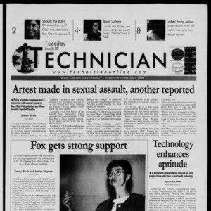 Technician, January 30, 2001