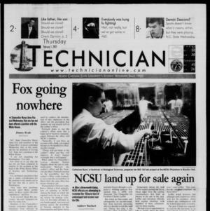 Technician, February 1, 2001