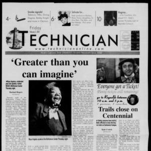 Technician, February 2, 2001