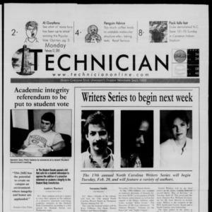 Technician, February 12, 2001
