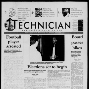 Technician, February 19, 2001