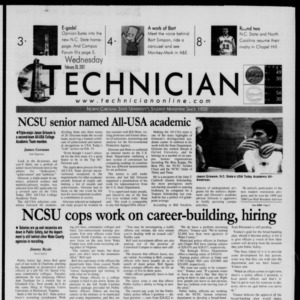 Technician, February 28, 2001