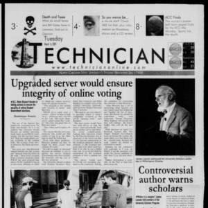 Technician, March 6, 2001
