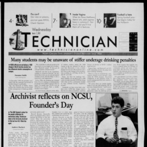 Technician, March 7, 2001