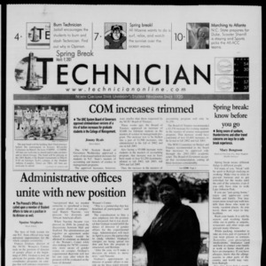Technician, March 9, 2001