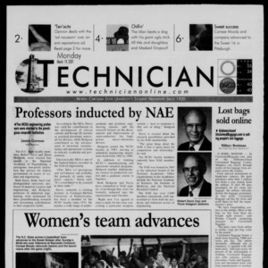 Technician, March 19, 2001