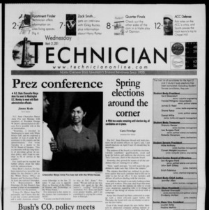 Technician, March 21, 2001