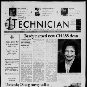Technician, March 26, 2001
