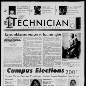 Technician, March 27, 2001