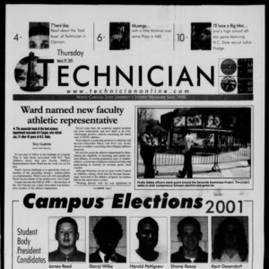 Technician, March 29, 2001