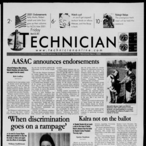 Technician, March 30, 2001