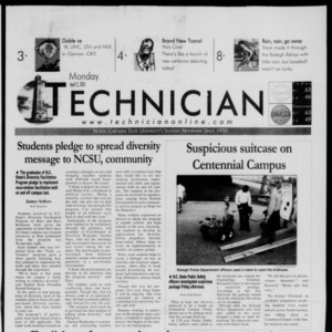 Technician, April 2, 2001