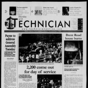 Technician, April 9, 2001
