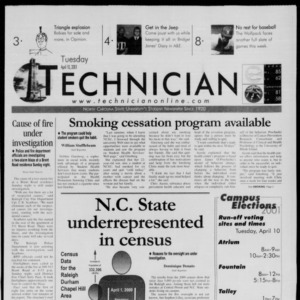 Technician, April 10, 2001