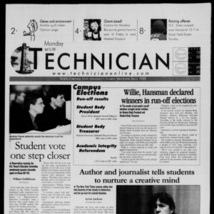 Technician, April 16, 2001