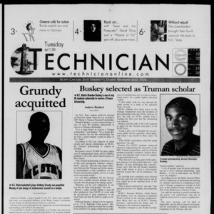 Technician, April 17, 2001