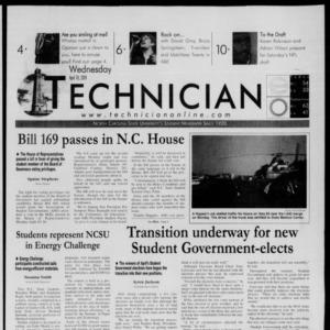 Technician, April 18, 2001