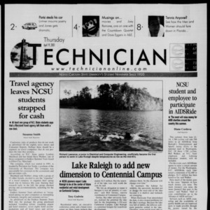 Technician, April 19, 2001