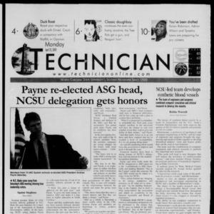 Technician, April 23, 2001