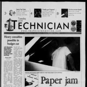 Technician, April 24, 2001