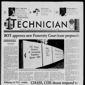 Technician, April 25, 2001