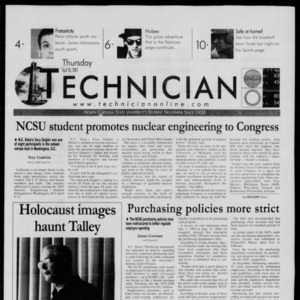 Technician, April 26, 2001