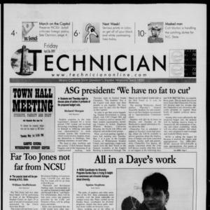 Technician, April 27, 2001