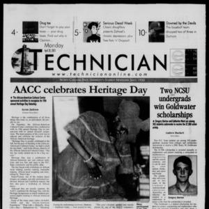 Technician, April 30, 2001