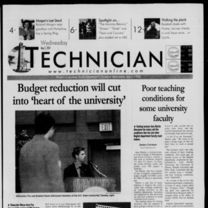 Technician, May 2, 2001